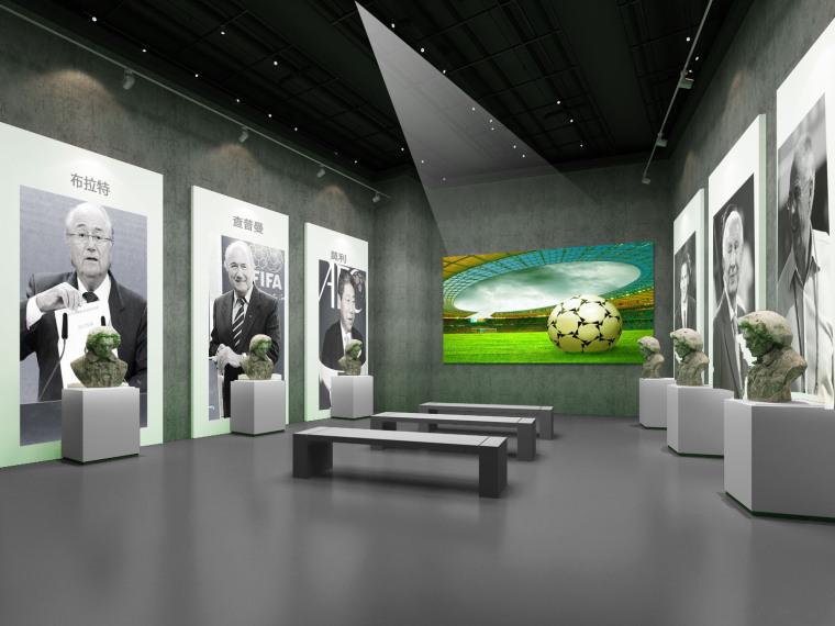 山东临淄足球博物馆