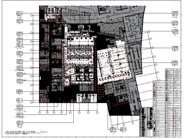 [上海]国际知名豪华酒店设计施工图(含效果图,概念方案)
