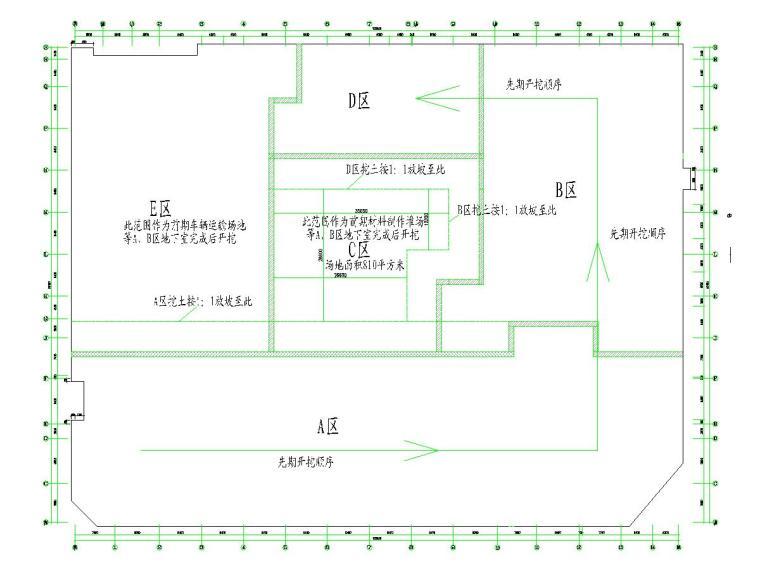 [江苏]土方开挖及基坑监测施工方案(附基坑支护施工图)