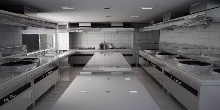 厨房通风排烟管道的安装细节