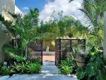 花香迎人,这些庭院入口太美了!