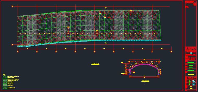室内步行街采光顶幕墙结构施工图_9