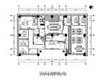 [四川]某建筑工程有限公司办公楼CAD施工图(含效果图)
