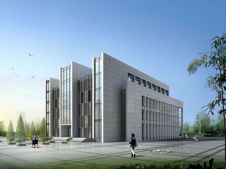50套商业、酒店、办公楼建筑方案施工效果图纸