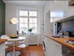 色彩点缀白色两居室内装修设计实景图(20张)