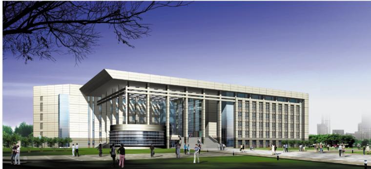 南京气象学院校区总体规划建筑设计方案文本
