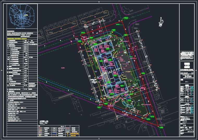 [成都]某集团公司办公大楼CAD施工图精细图纸(国内知名设计院)