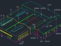 钢结构厂房各部分彩连件标准详图