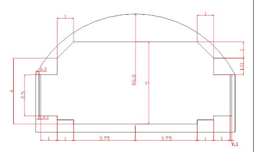 高速公路隧道工程施工计算书(20页)