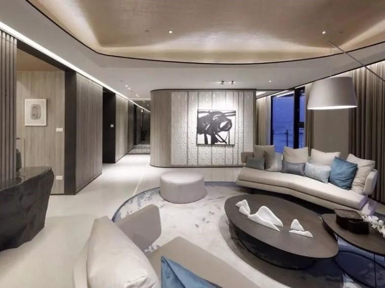 现代简约风格的居住空间