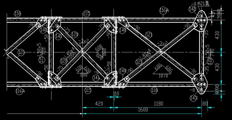 7737铁塔全套结构图