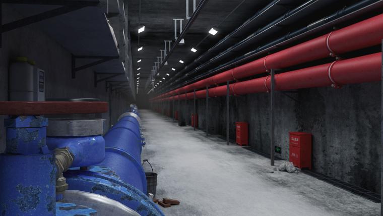 雨水污水管道在综合管廊里如何布置?