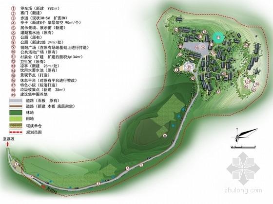 [贵州]瑶族聚居地村庄规划政治方案(附规划设计说明书)