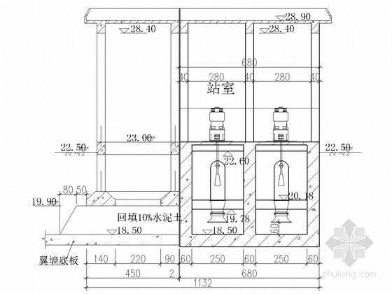 [江苏]泵站电机层更新改造工程施工图