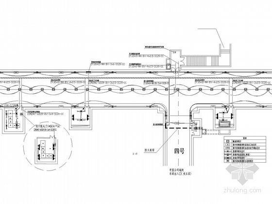 [重庆]大型地下车库工程强弱电系统全套施工图纸116张