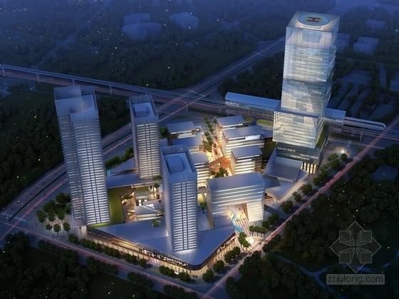 [广东]超高层首席高端城市综合体建筑设计方案文本