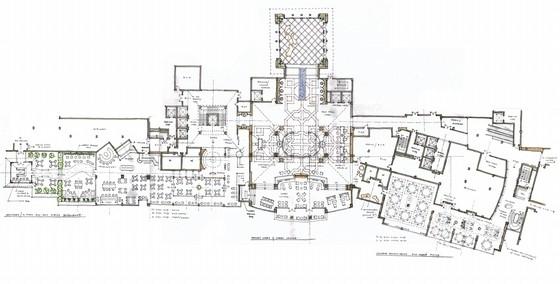 [浙江]生态宜居核心区现代别墅式酒店室内设计概念方案