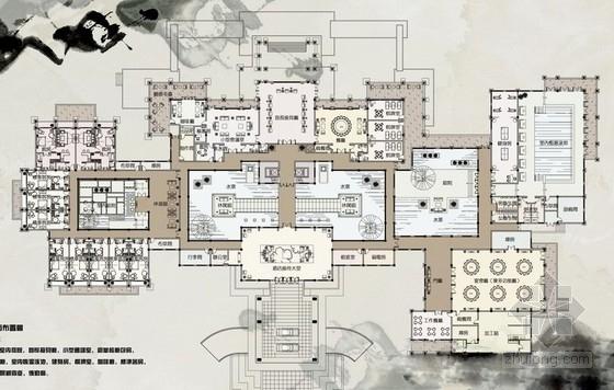 [太原]著名风景区五星级标准高档酒店室内设计方案