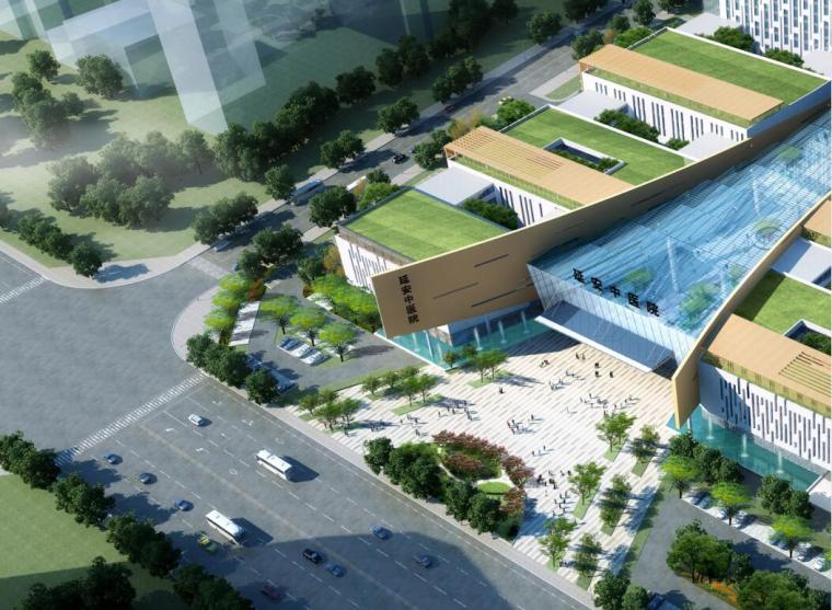 [陕西]现代风格中医医院建筑设计文本(PDF+85页)