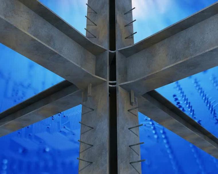 [QC成果]提高劲性钢梁柱节点处开孔准确率PPT