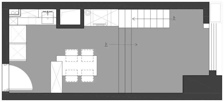 20平loft长条型小户型公寓,迷你小家也可以简约且精致~