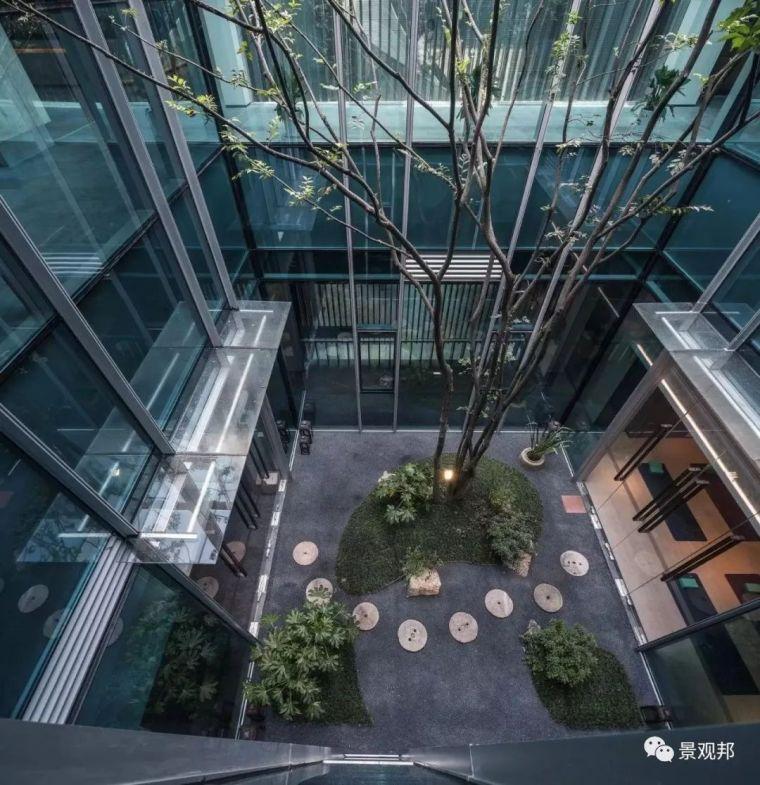 一大波不错的中庭/内庭/天井空间景观设计