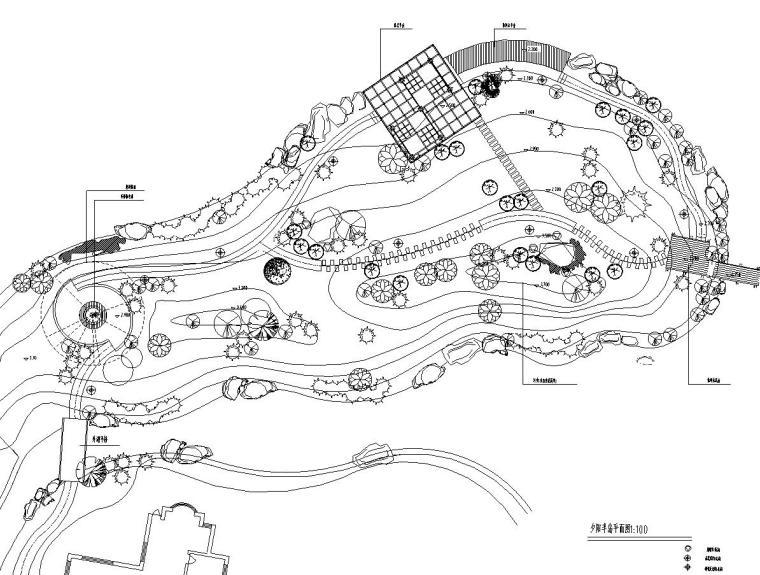 [浙江]杭州天堂人家全套景观设计施工图设计(中国美院)