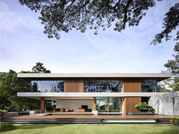 新加坡CASA别墅住宅景观