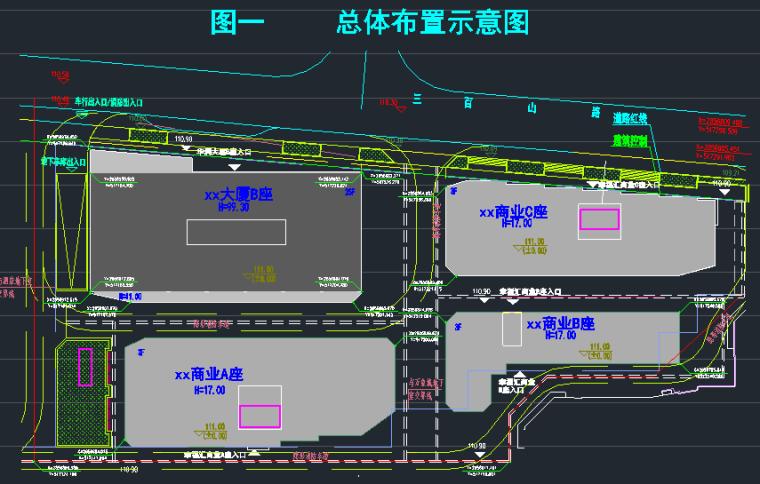 25层华润框架核心筒商业办公楼结构施工图_9