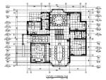 [安徽]简约设计全套别墅设计CAD施工图(含效果图)