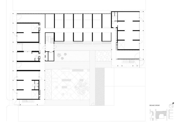 荷兰预制混凝土模块式的住宅-荷兰预制混凝土模块的住宅平面图 (10)