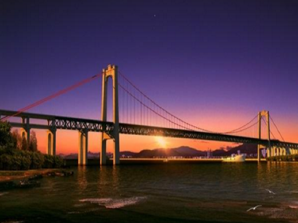 五峰山长江大桥建设始末---世界首座高铁悬索桥