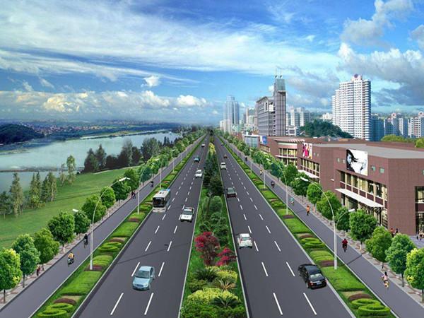 道路及附属工程可行性研究报告(共98页)