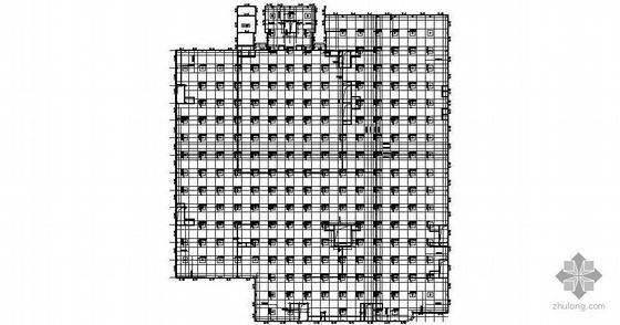 某市人民广场人防工程建筑结构图