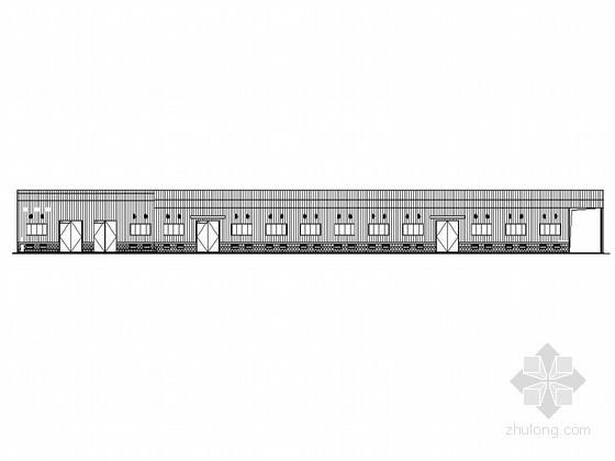 某单层钢结构仓库建筑设计施工图