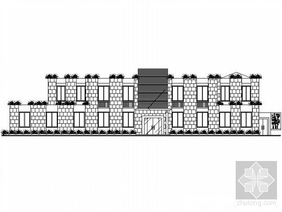 某著名饭店建筑施工图