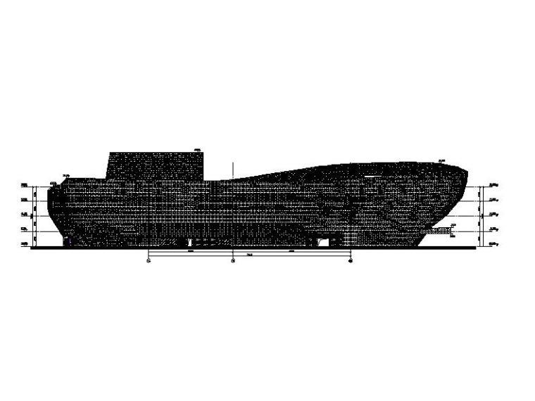 [安徽]四层弧线型文化中心钢结构玻璃幕墙施工图(16年最新)_4