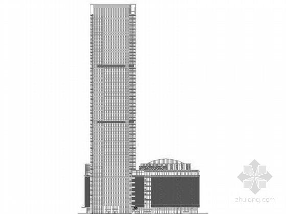 [江苏]大型现代风格国际商业广场建筑施工图(多个地块)