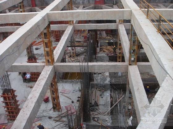 [原创]深基坑支护施工组织设计(桩撑)