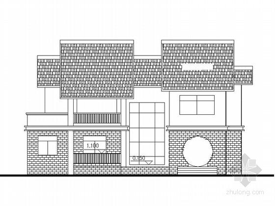 [江西]新中式3层独栋别墅建筑图纸集锦(含多个类型)