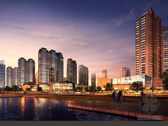 [江西]现代风格超高层城市综合体建筑设计方案文本(知名事务所及地