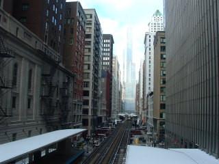 美国芝加哥轻轨,非常实用