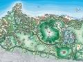 [合肥]生态旅游度假村景观规划设计总平面图