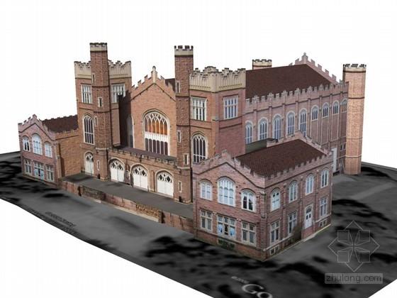 大气建筑SketchUp模型下载