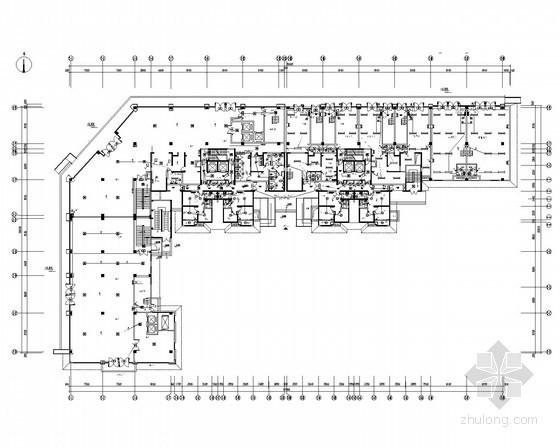 [陕西]33层高档住宅带底商和人防电气施工图(甲级院最新设计)