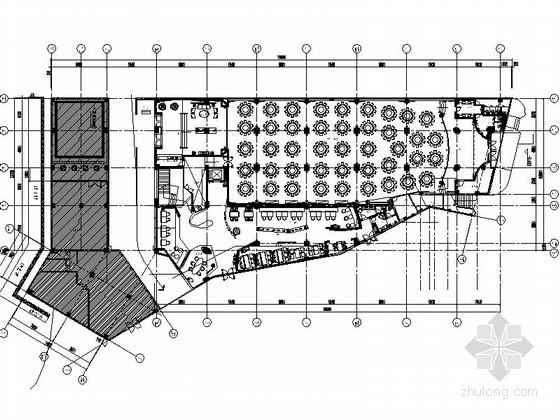 [无锡]特色精品古典餐厅CAD装修图(含效果实景)