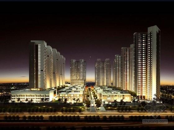 [广东]知名公司住宅区规划及单体设计方案文本
