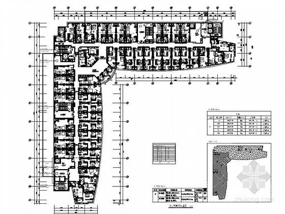 [广东]典雅欧式五星级商务酒店客房部分室内设计施工图(含效果图)