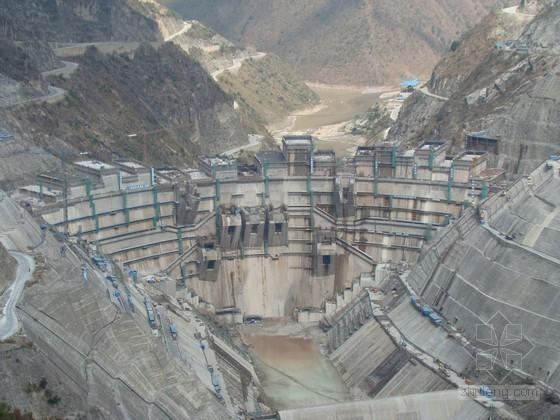 水电站左岸土建及金属结构安装工程施工组织设计