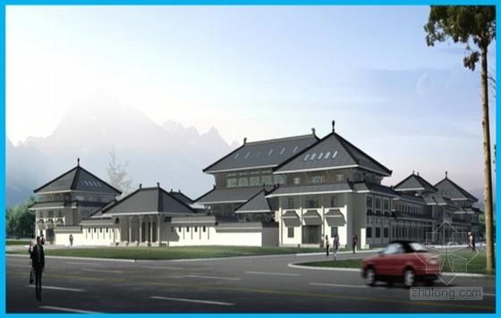 [内蒙古]大型框架结构博物馆施工质量创优汇报PPT(鲁班奖)